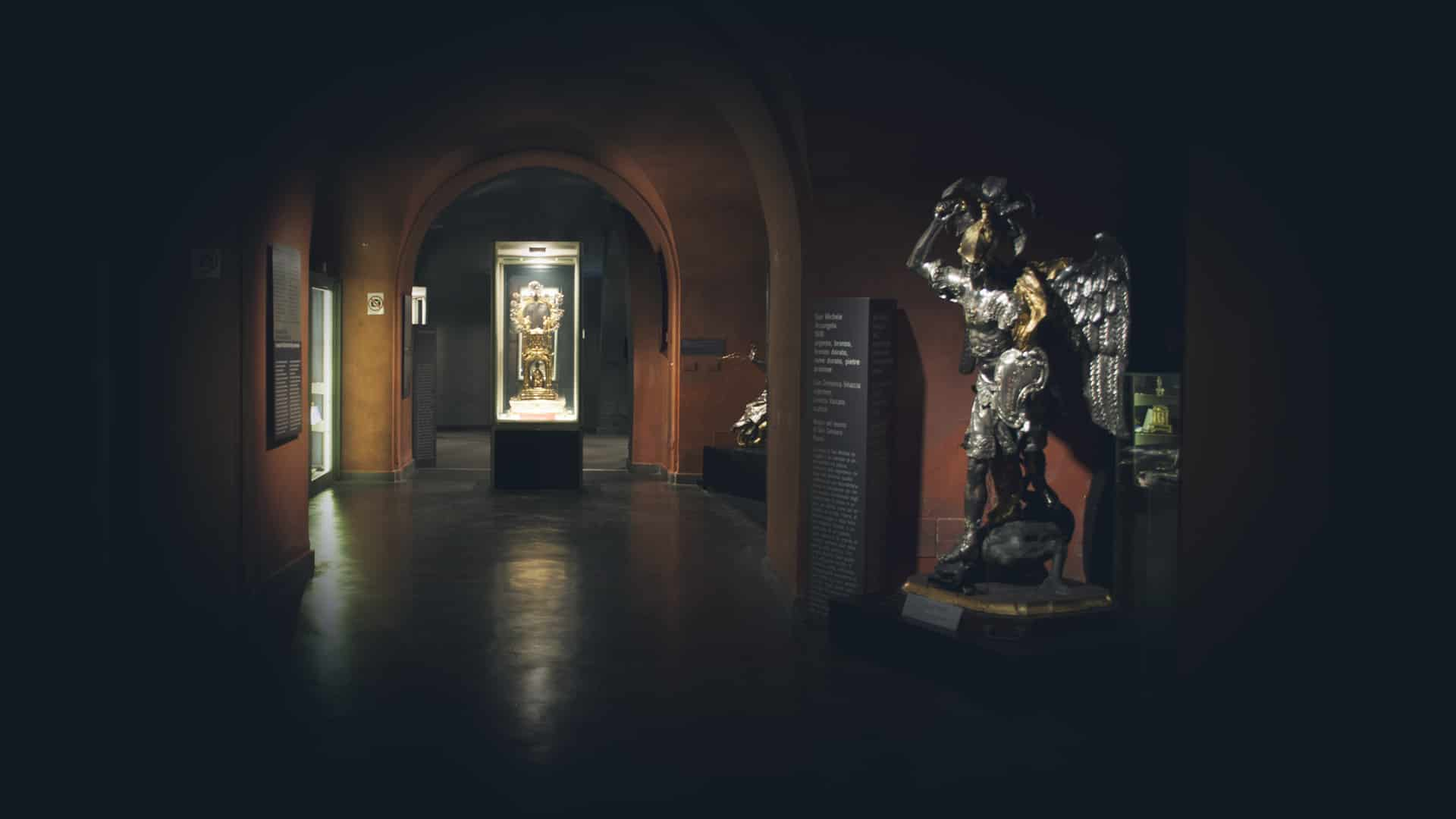 Sala del Museo del Tesoro di San Gennaro