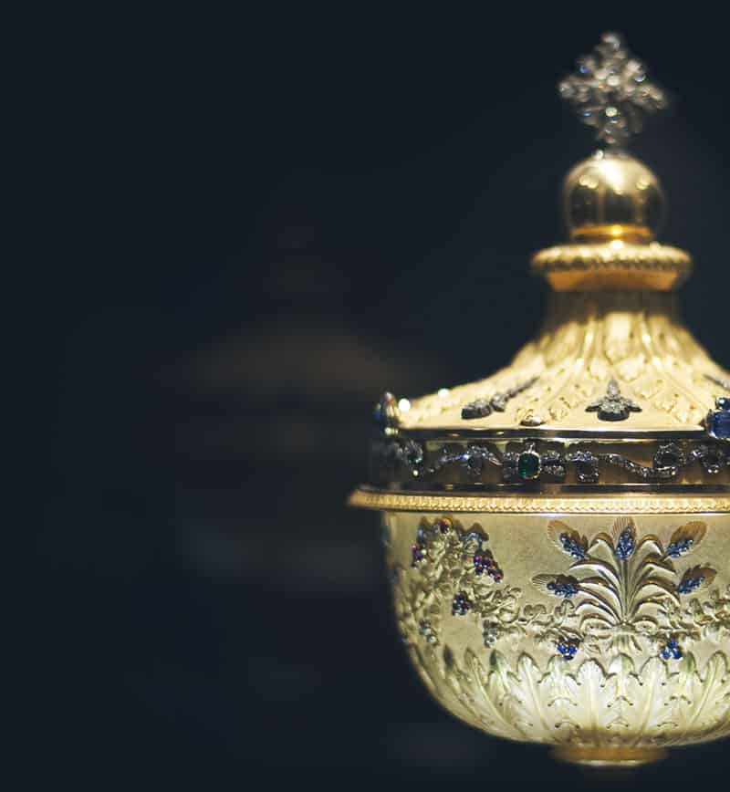 Ciborium jeweled