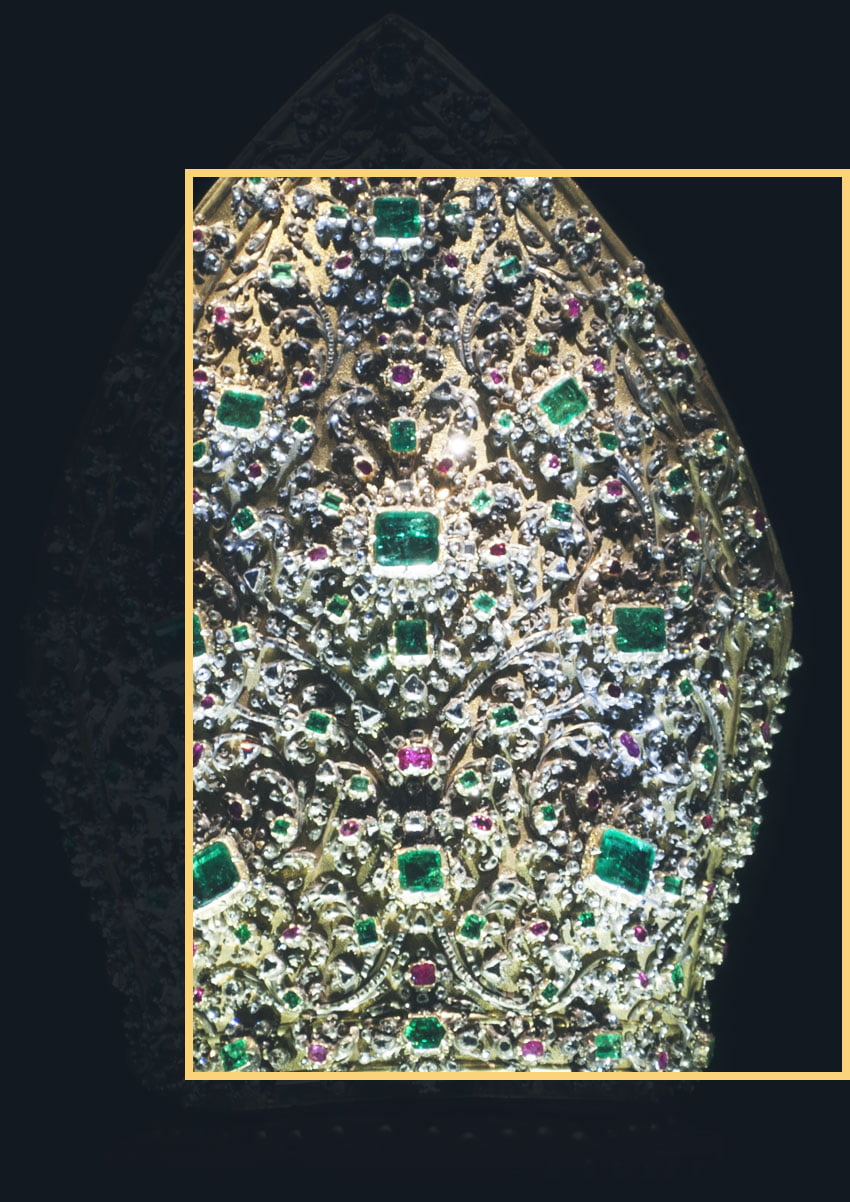 Jeweled miter of St. Gennaro